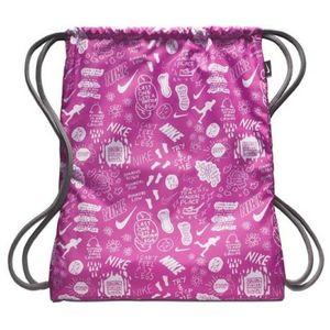 Nike Bags - Nike Pink & White Graphic Gym Sack \ Backpack